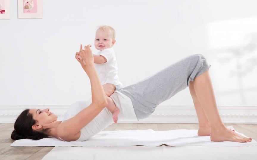 Fă sport împreună cu bebelușul tău