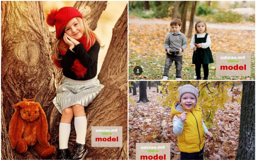 """Câștigătorii celei de-a doua ediții a concursului """"Fii modelul Odoraș"""". Ia vedeți ce copii adorabili au fost selectați!"""