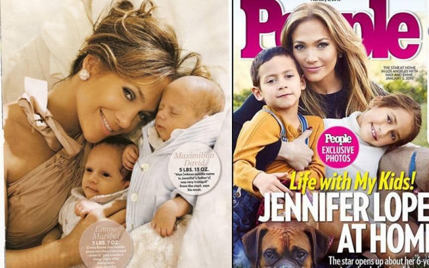 Gemenii lui Jennifer Lopez au împlinit 8 ani
