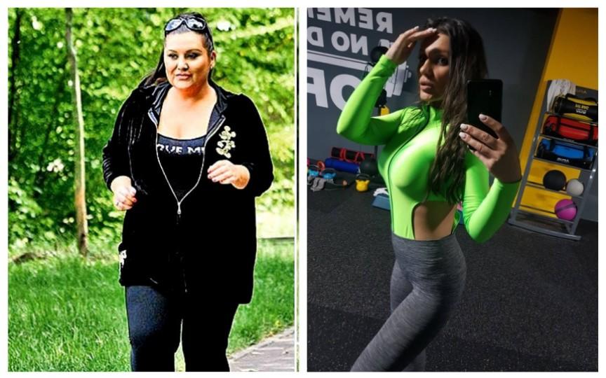 Vedeta din România care a slăbit 50 de kilograme. Cât de mult s-a schimbat!