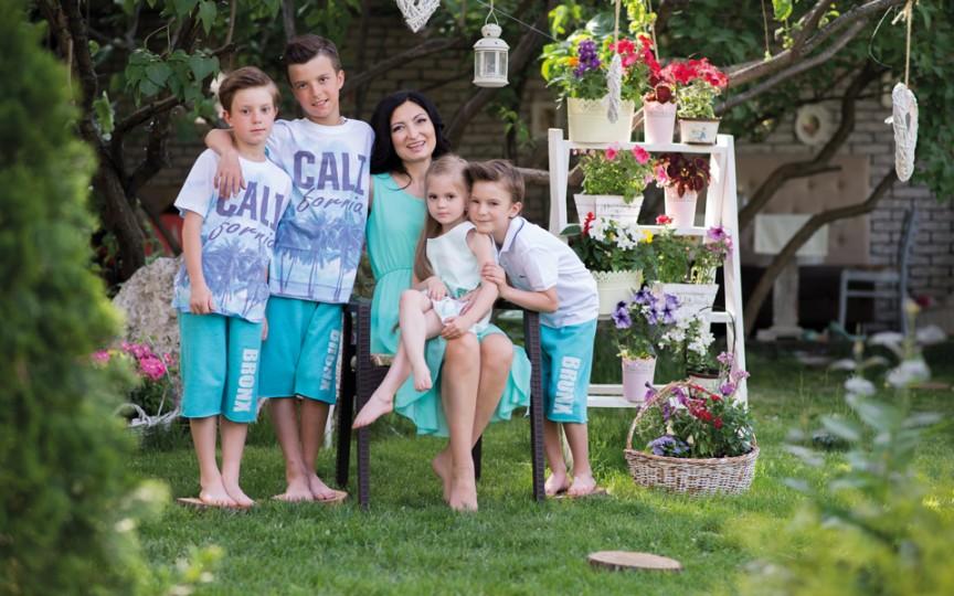 Liliana Prado: sunt o mamă dintr-o mie