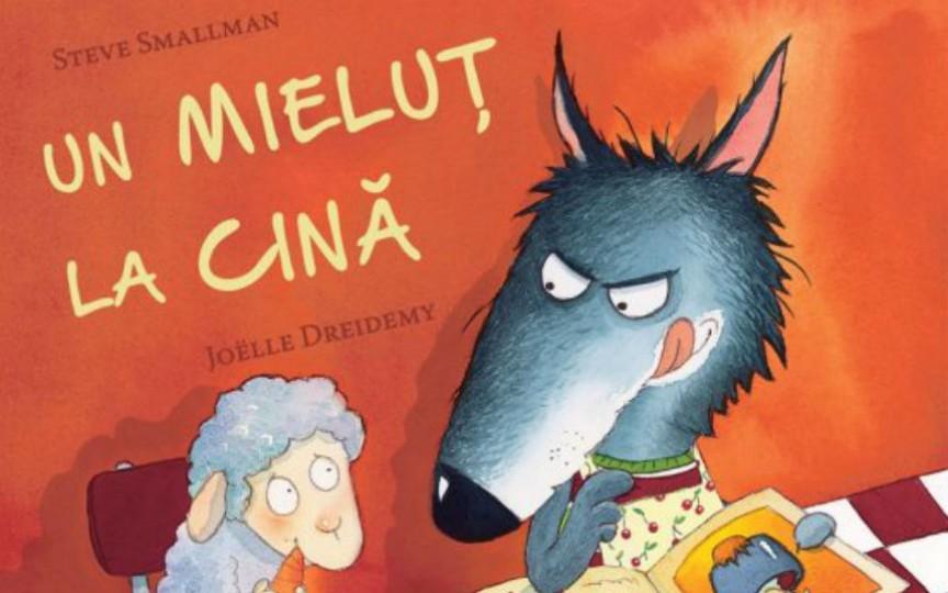 """""""Un mieluț la cină"""" – o carte minunată pentru părinți și pitici"""