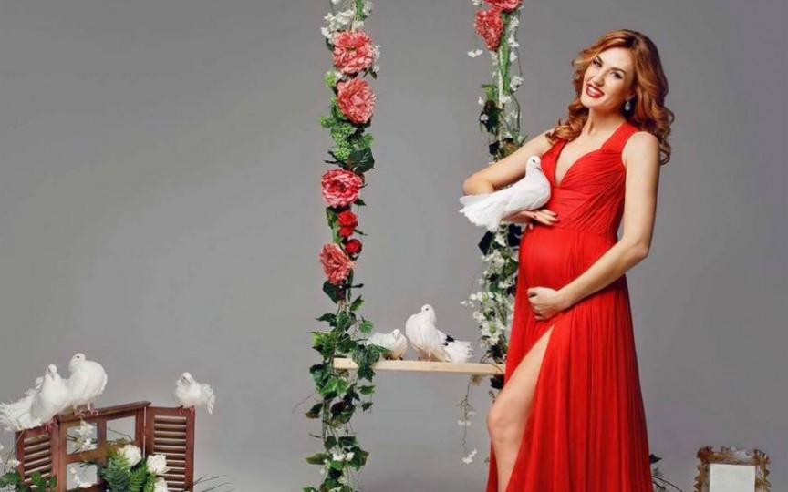(FOTO) Tatiana Heghea este însărcinată din nou