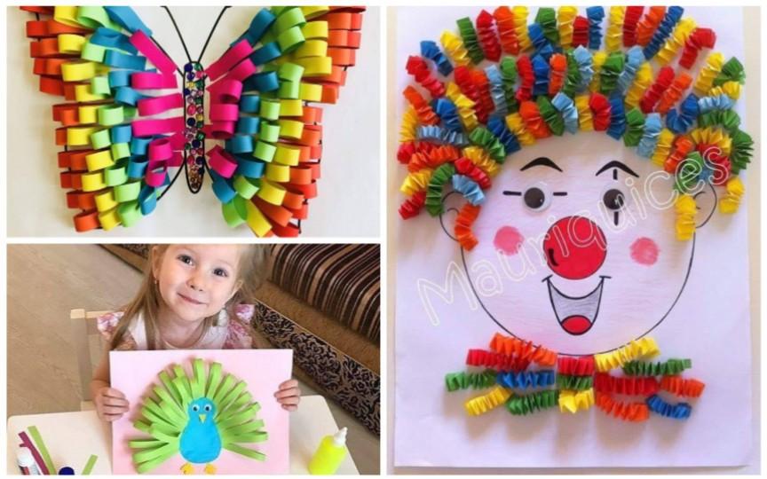 (FOTO) Aplicații din hârtie colorată – activități creative pentru copii cât stăm acasă