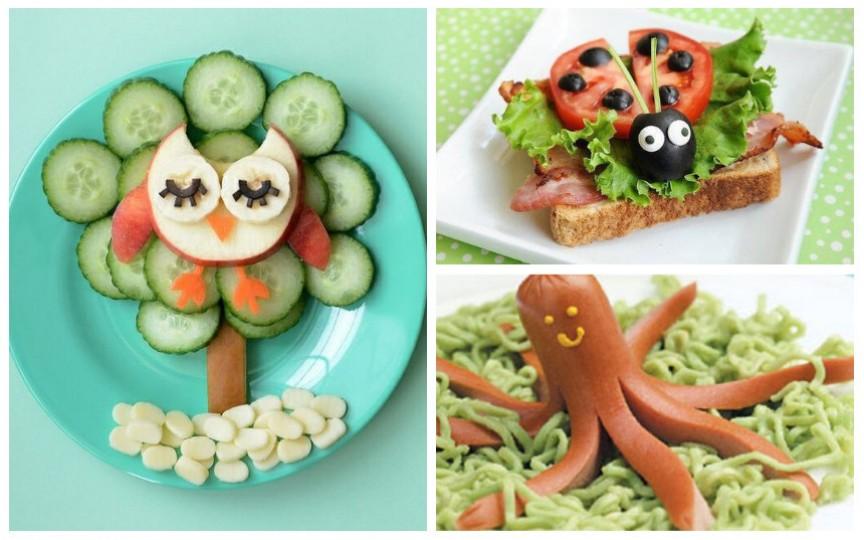 Idei originale de aranjare a mâncării în farfurie astfel încât copiii neapărat să o încerce
