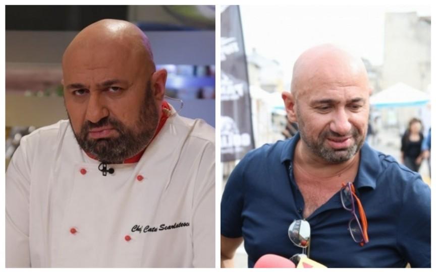 """Cum a slăbit 52 kg Cătălin Scărlătescu, juratul """"Chefi de la Cuțite"""""""