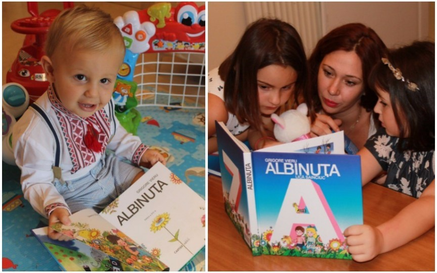 """Copiii din diasporă încurajați să învețe limba română din abecedarul """"Albinuța"""""""