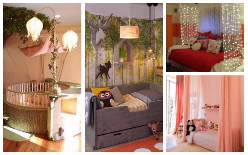 9 idei creative pentru amenajarea camerei copiilor