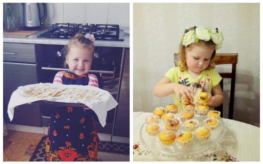 Mica bucătăreasă care face furori pe internet. Cunoaște-o pe Gabriela Leahu și pasiunea ei pentru gătit!
