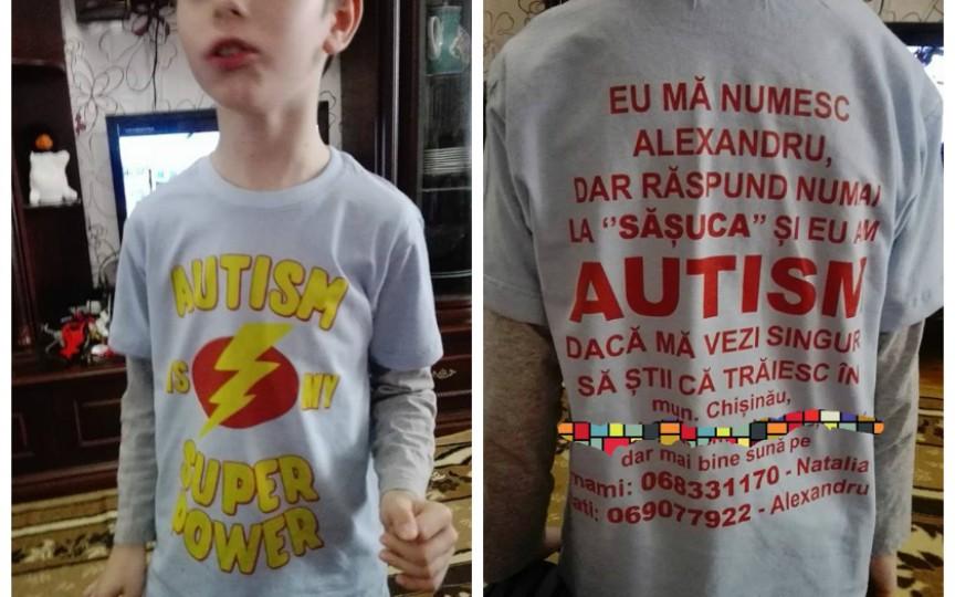 """Eu mă numesc Alexandru, dar răspund numai la """"Şăşuca"""" şi am Autism"""