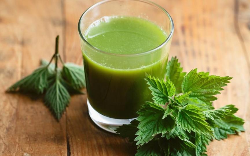 Sucul de urzică este considerat cel mai puternic remediu pentru curățarea organismului de toxine