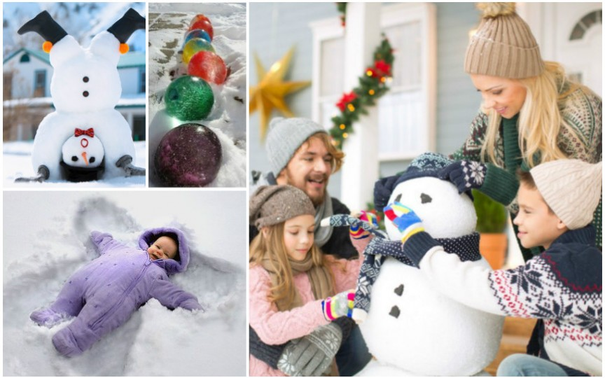 Cele mai creative activități de iarnă pentru copii