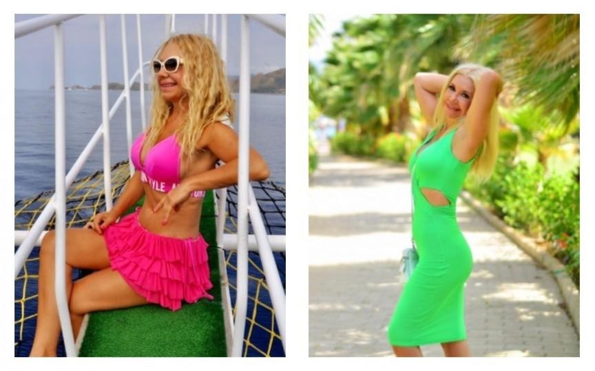 (FOTO) Tanti Ludmila la plajă: arată extraordinar de bine
