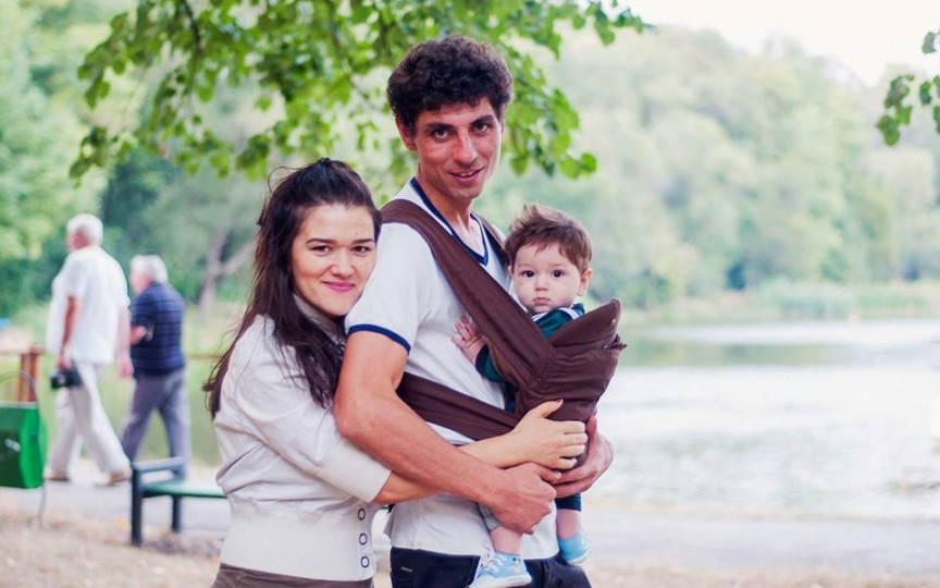 Fiul actorului Sergiu Voloc a împlinit un anișor. Mesajul emoționant al mamei sale