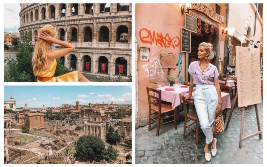 (FOTO) Sfaturi de la Cristina Gheiceanu pentru o mini-vacanță de vis la Roma
