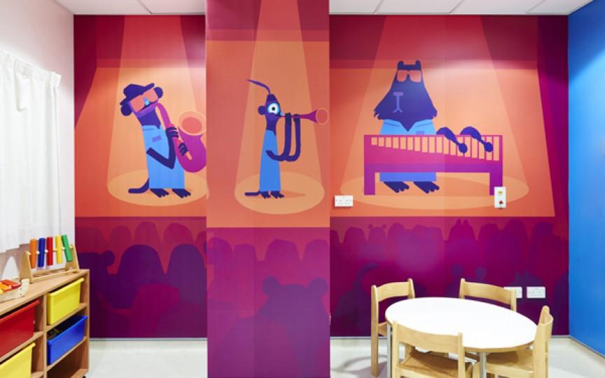 Art Terapia - decorarea spitalelor de copii din Moldova