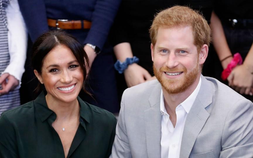 (FOTO) Primele imagini cu bebelușul regal al prințului Harry și al lui Meghan Markle