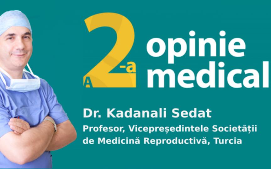 A doua opinie medicală GRATUITĂ pentru susținerea pacienților cu infertilitate