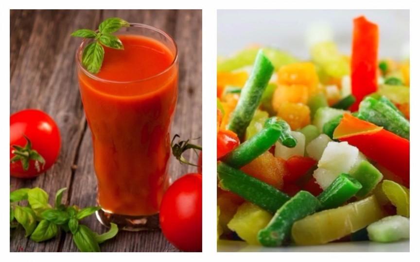 Cele mai bune sucuri și salate pentru copiii mici