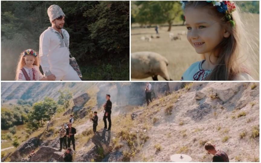 Valentin Uzun și fiica sa Amelia au lansat videoclipul emoționant - Moldova mea
