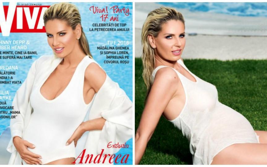 Primele declarații ale Andreei Bănică despre sarcina sa