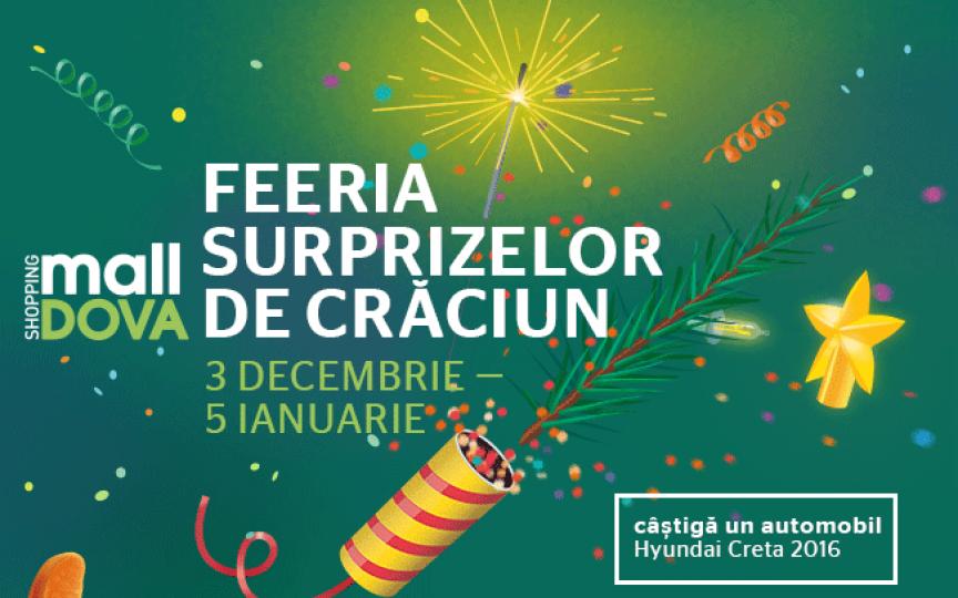 Feeria surprizelor de Crăciun Shopping MallDova: zâmbete, cadouri și premii pe 4 roți!