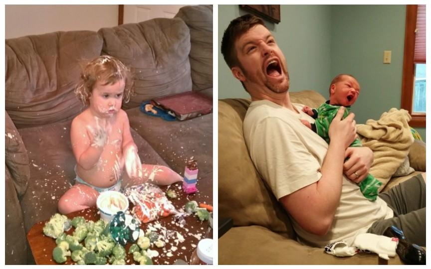 12 situații care descriu perfect viața tuturor părinților