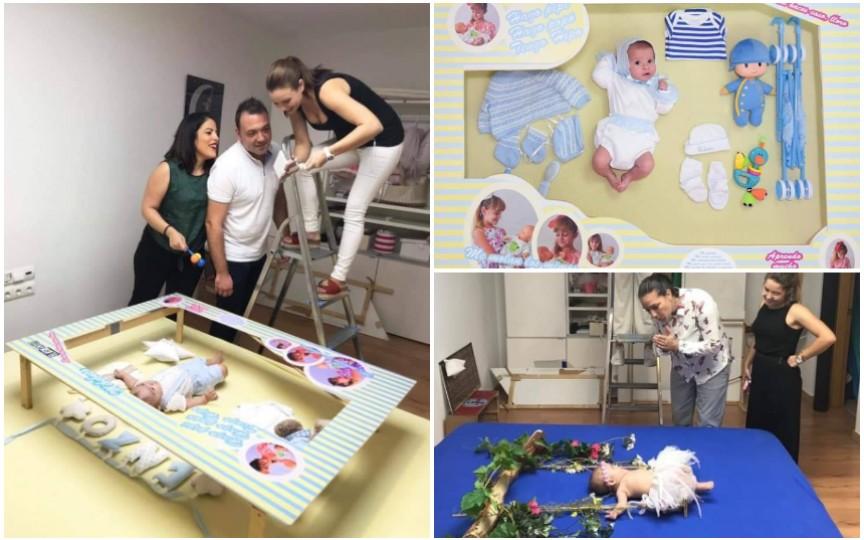 Idei superbe pentru o sesiune foto a bebelușilor