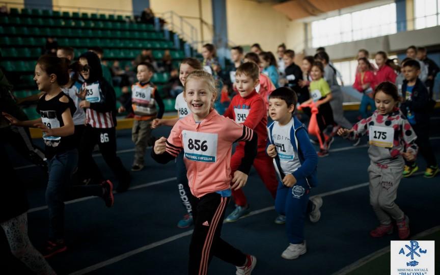 Înscrieți odorașul la cel mai mare Maraton al Copiilor!
