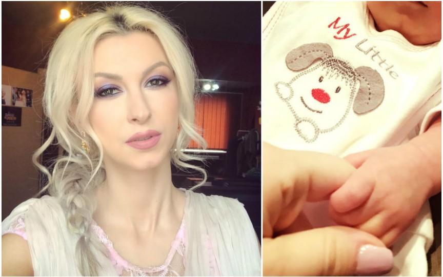 De ce nu își arată Andreea Bălan fiica. Detalii despre botez!