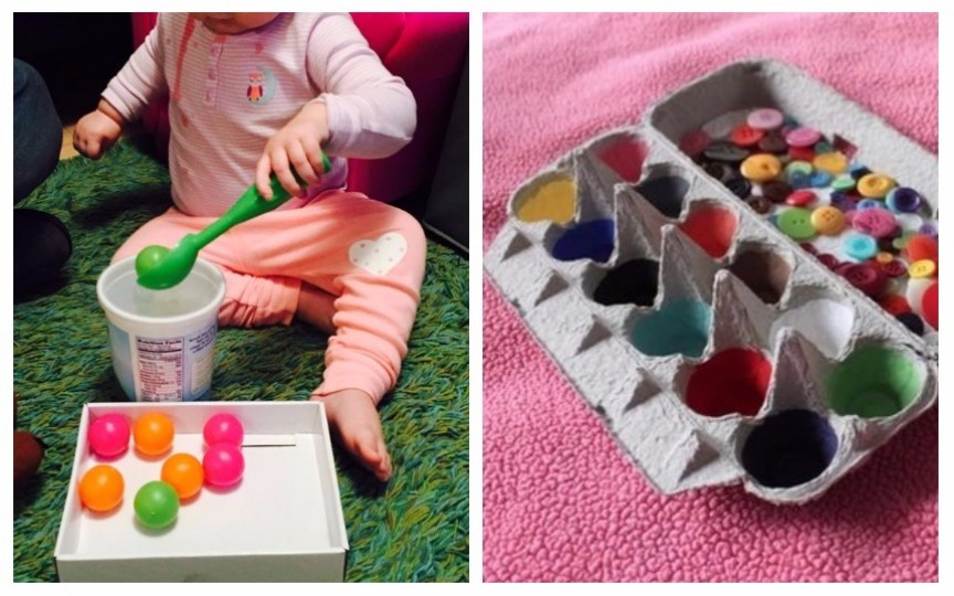15 activități pentru copii mici inspirate de la Maria Montessori