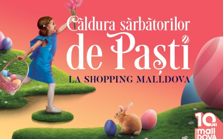 La Shopping MallDova sărbătorile pascale au gust de ciocolată! Iepurașul a pregătit surprize pentru toți copiii