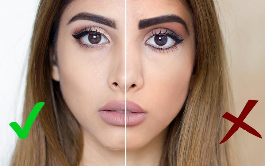 10 greșeli de frumusețe pe care le fac femeile