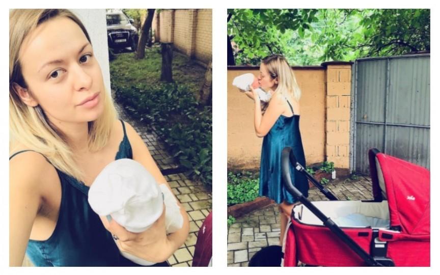 Proaspăta mămică Elena Ozun a descoperit frumusețea concediului de maternitate