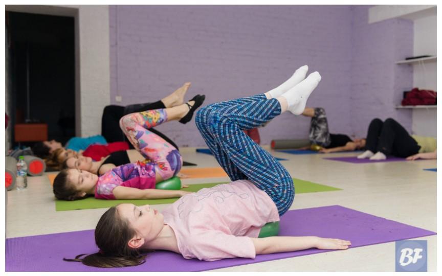 Sănătatea copiilor - fortificată cu pilates
