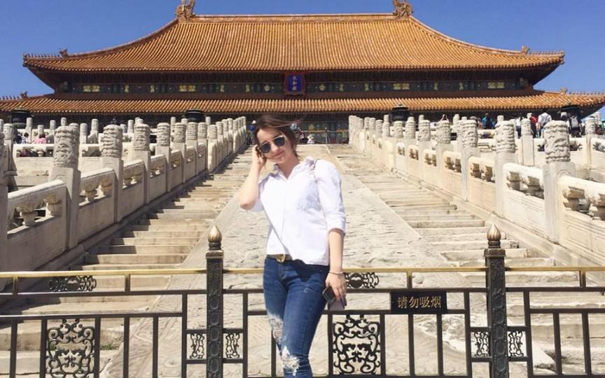 O tânără chișinăuiancă a plecat la studii în China, unde a lucrat la o grădiniță