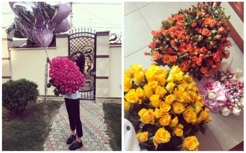 (FOTO) Creatoarea Elena Bivol și-a sărbătorit ziua de naștere. Are casa plină cu flori