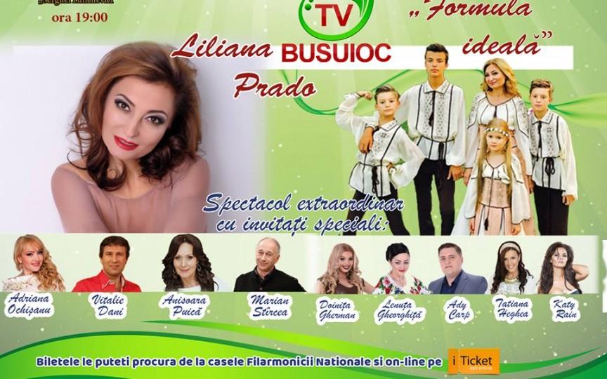 Liliana Prado te invită la un nou concert de excepție