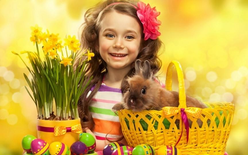 4 poezii frumoase de Paște pentru copii