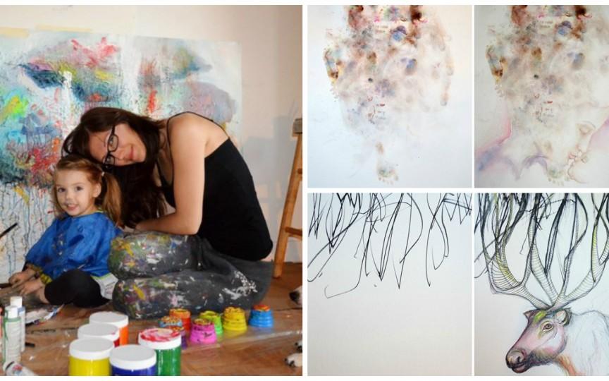 Mama care a transformat desenele copilului în opere de artă