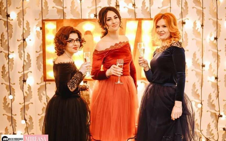 Ele sunt cele trei femei ambițioase care promit să îți transforme orice eveniment în sărbătoare