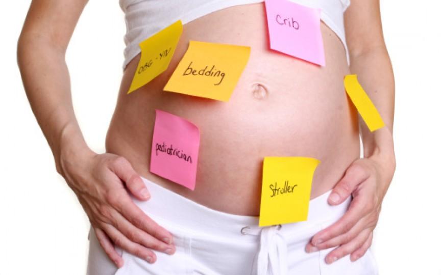 Gravidele devin uituce odată cu creşterea sarcinii