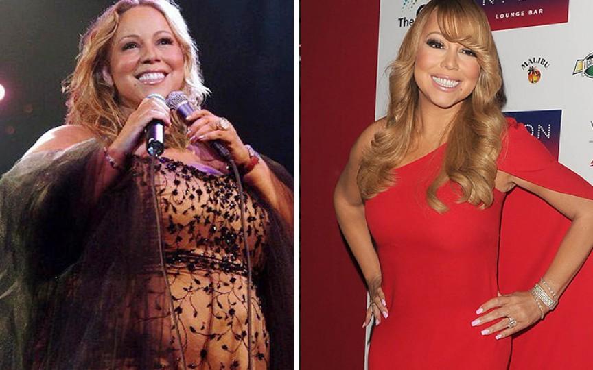Interpreta Mariah Carey a slăbit într-un an 50 kg după ce a ajuns să cântărească peste 120 de kilograme