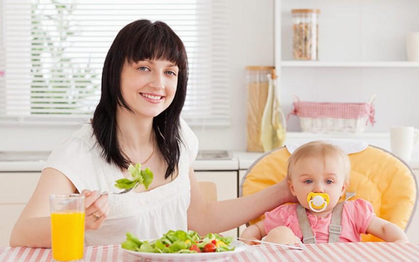 Alimentația mamei în perioada alăptării