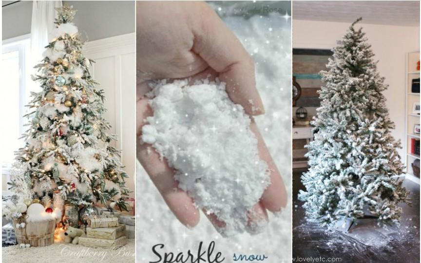 Cum poți face zăpadă artificială la tine acasă cu ingrediente simple