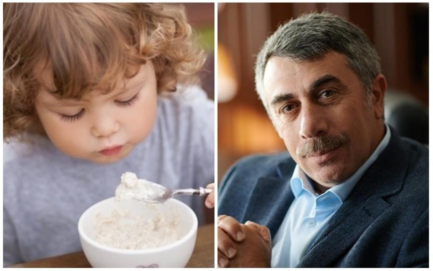 Top 7 cele mai bune terciuri pentru alimentația copiilor. Recomandările medicului Komarovskii