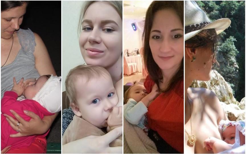 Mămicile din Moldova despre alăptatul în public: Sunt pro, dar ar fi bine de acoperit sânul cu o basma!