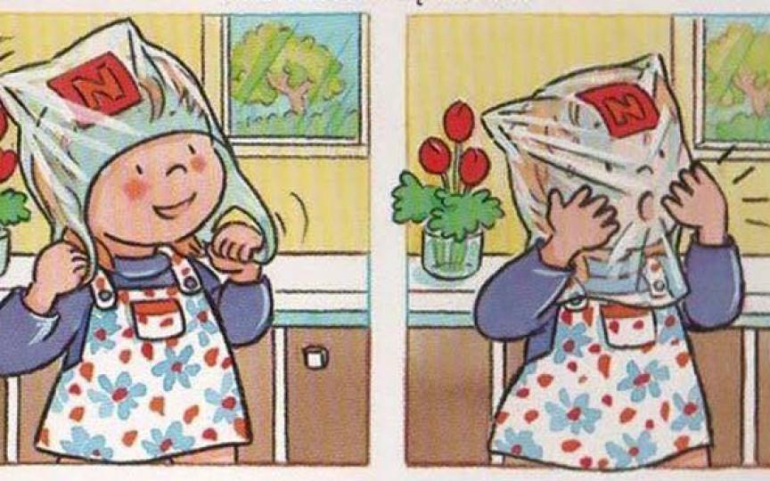 Învață-ți copilul despre posibilele PERICOLE, prin intermediul ilustrațiilor