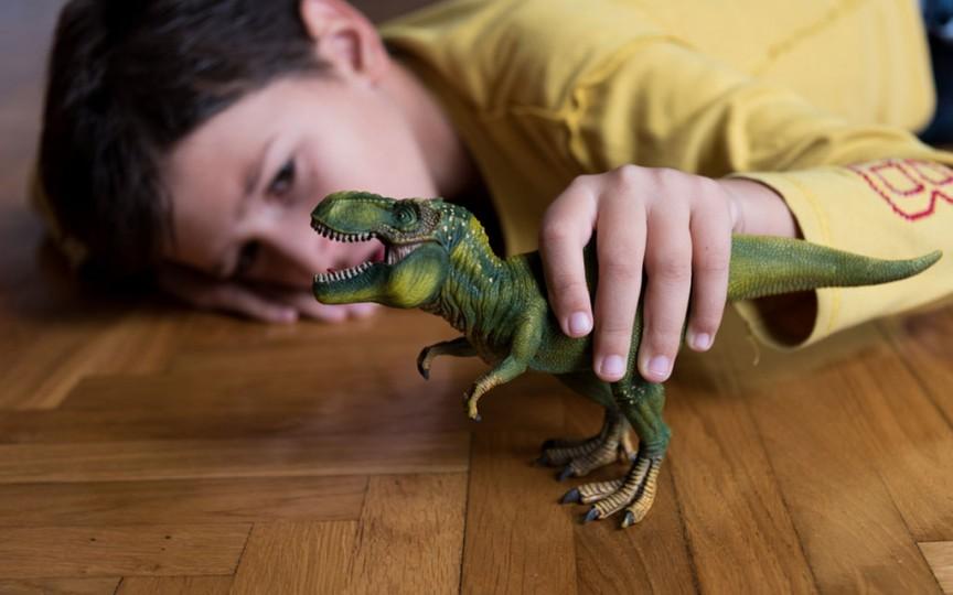 Studiu: Copiii interesați de dinozauri pot avea un nivel superior de inteligență