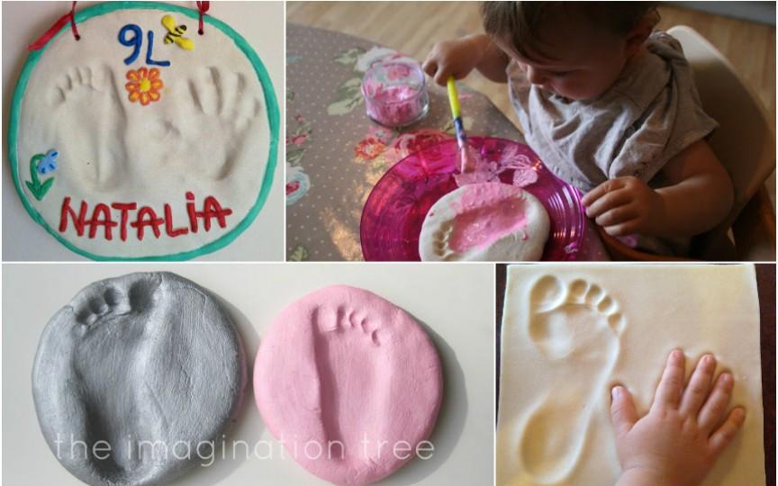IDEE: Cum să păstrezi amprentele bebelușului tău!